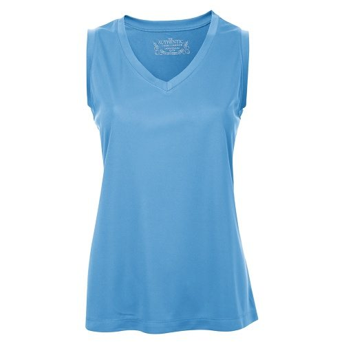 Custom Printed ATC L3527 Ladies' Pro Team Sleeveless Tee - Front View | ThatShirt