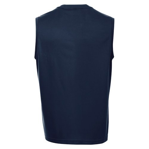 Custom Printed ATC S3527 Pro Team Sleeveless Tee - 8 - Back View | ThatShirt