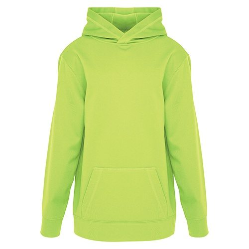 Custom Printed ATC Y2005 Youth Game Day Fleece Hooded Sweatshirt - Front View | ThatShirt