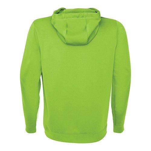 Custom Printed ATC Y2005 Youth Game Day Fleece Hooded Sweatshirt - Lime Shock - Back View   ThatShirt