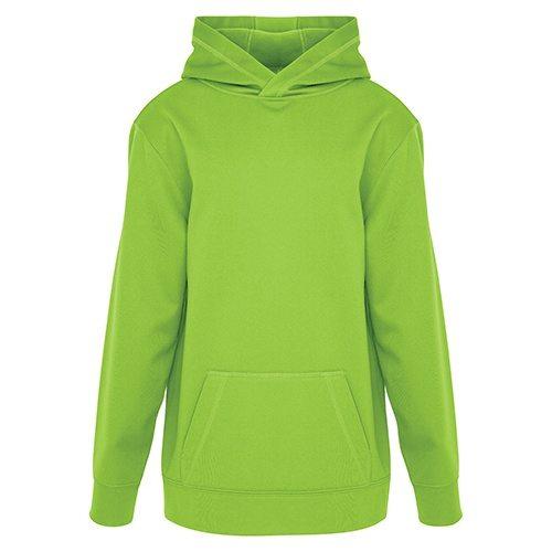 Custom Printed ATC Y2005 Youth Game Day Fleece Hooded Sweatshirt - Front View   ThatShirt