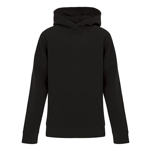 Custom Printed ATC Y2016 ES Active Hooded Youth Sweatshirt - Front View | ThatShirt