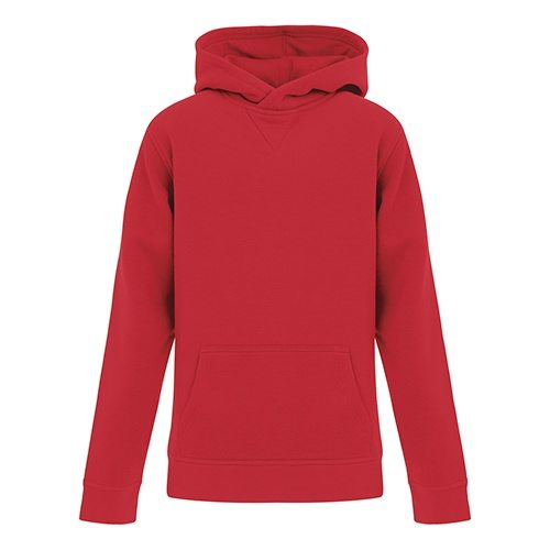 Custom Printed ATC Y2016 ES Active Hooded Youth Sweatshirt - 3 - Front View | ThatShirt