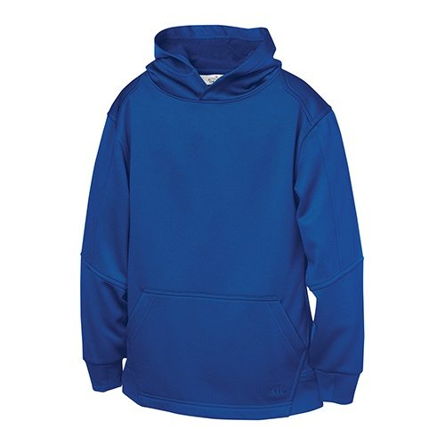 Custom Printed ATC Y220 Youth PTech Fleece Hooded Sweatshirt - 5 - Front View | ThatShirt