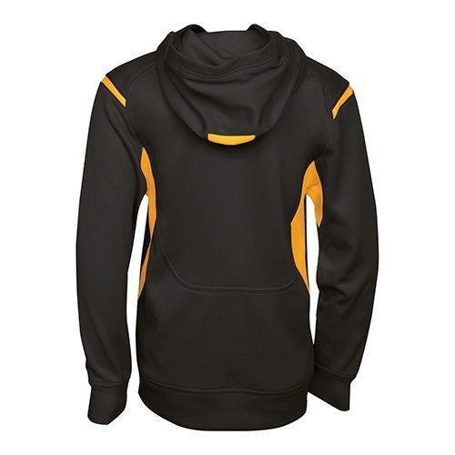 Custom Printed ATC Y2201 Youth Ptech Fleece Varsity Hooded Sweatshirt - 1 - Back View | ThatShirt
