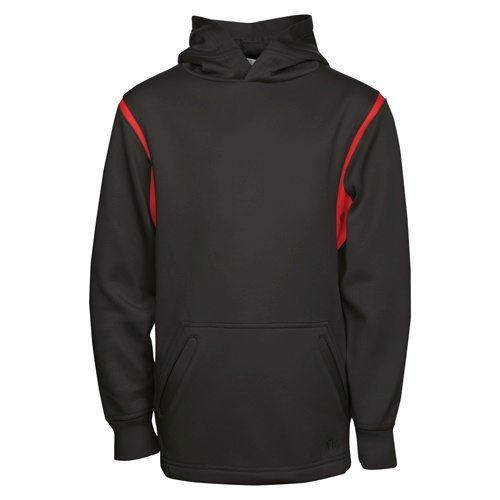 ATC Y2201 Youth Ptech Fleece Varsity Hooded Sweatshirt