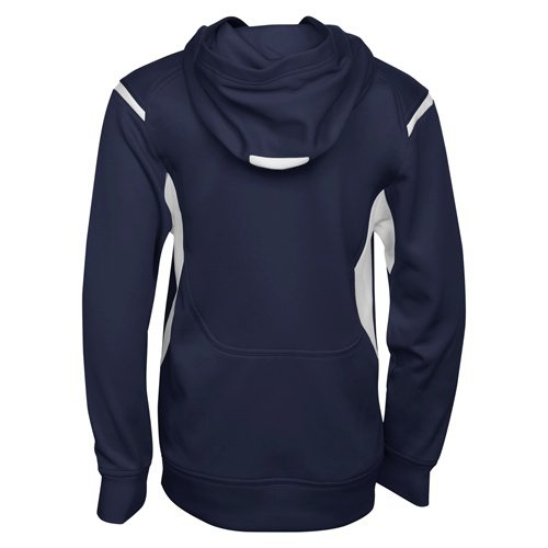 Custom Printed ATC Y2201 Youth Ptech Fleece Varsity Hooded Sweatshirt - 4 - Back View | ThatShirt