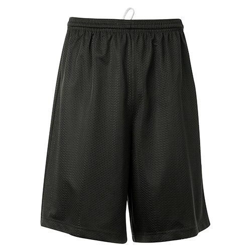 Custom Printed ATC Y3525 Youth Pro Mesh Shorts - Front View | ThatShirt