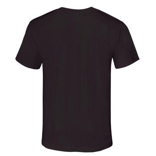 Custom Printed Alstyle 1301 Cotton Unisex T-shirt - 9 - Back View | ThatShirt