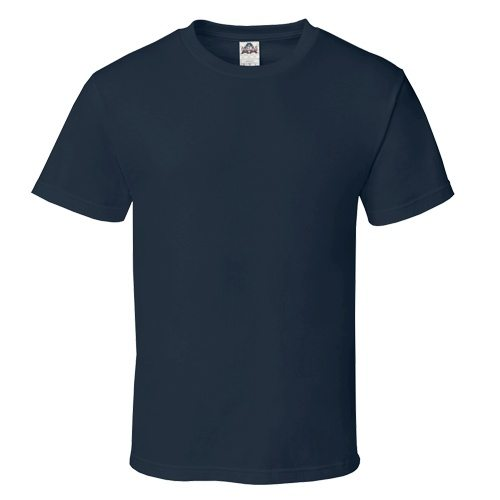 Custom Printed Alstyle 1301 Cotton Unisex T-shirt - Front View   ThatShirt