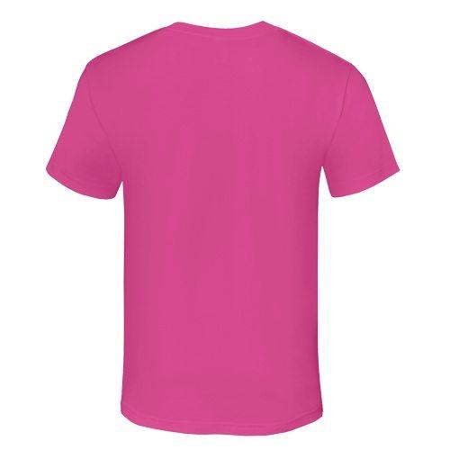Custom Printed Alstyle 1301 Cotton Unisex T-shirt - 18 - Back View   ThatShirt