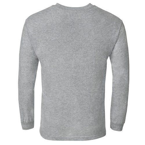 Custom Printed Alstyle 1304 Cotton Long Sleeve Tee - 2 - Back View | ThatShirt