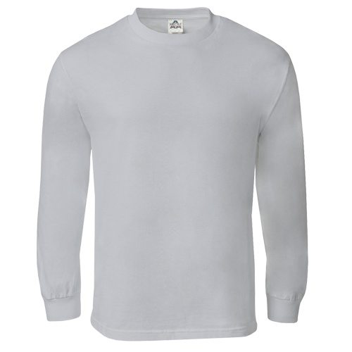 Custom Printed Alstyle 1304 Cotton Long Sleeve Tee - Front View   ThatShirt