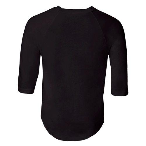 Custom Printed Alstyle 1334 Adult Raglan Baseball Tee - 2 - Back View | ThatShirt