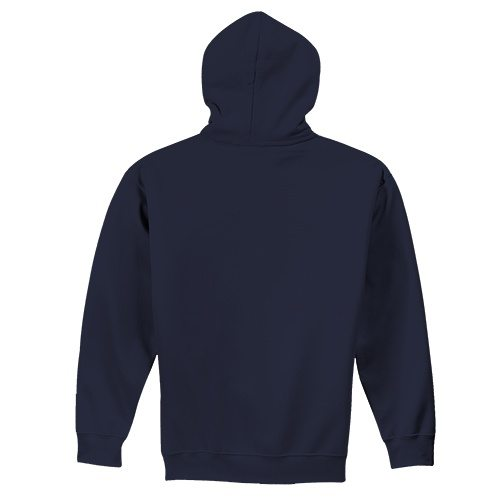 Custom Printed Alstyle 1573 Hooded Pullover Fleece - 0 - Back View | ThatShirt