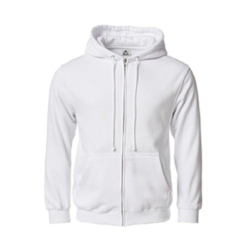 Custom Printed Alstyle 1574 Full-Zip Hooded Fleece - Front View | ThatShirt