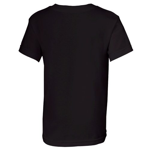 Custom Printed Alstyle 3382 Youth Regular Fit Short Sleeve Tee - 3 - Back View   ThatShirt