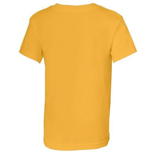 Custom Printed Alstyle 3382 Youth Regular Fit Short Sleeve Tee - 6 - Back View | ThatShirt