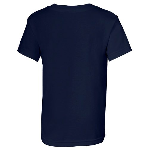 Custom Printed Alstyle 3382 Youth Regular Fit Short Sleeve Tee - 8 - Back View | ThatShirt