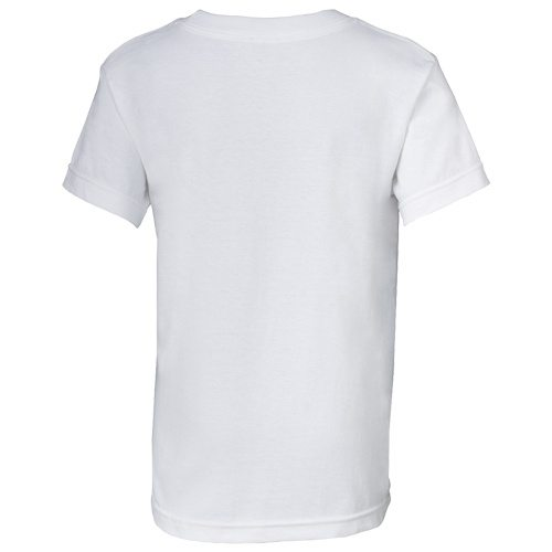 Custom Printed Alstyle 3382 Youth Regular Fit Short Sleeve Tee - 14 - Back View | ThatShirt