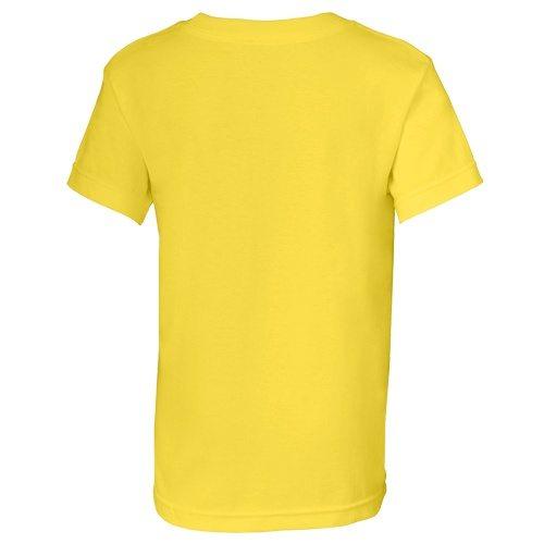 Custom Printed Alstyle 3382 Youth Regular Fit Short Sleeve Tee - 15 - Back View | ThatShirt
