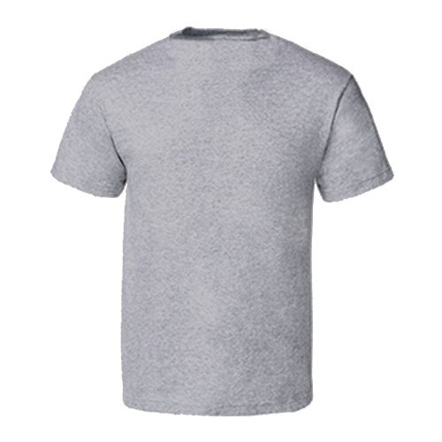 Custom Printed Alstyle 5301N Deluxe Adult Jersey Fitted Crew Neck T-Shirt - 1 - Back View | ThatShirt