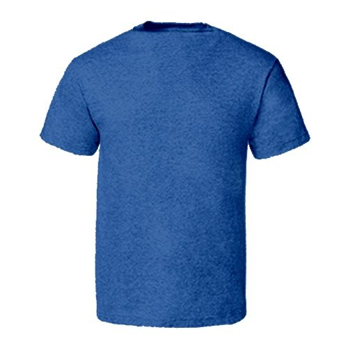 Custom Printed Alstyle 5301N Deluxe Adult Jersey Fitted Crew Neck T-Shirt - 27 - Back View | ThatShirt