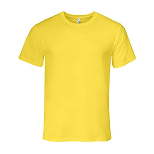 Custom Printed Alstyle 5301N Deluxe Adult Jersey Fitted Crew Neck T-Shirt - Front View   ThatShirt