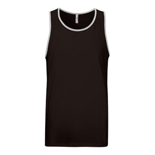 Custom Printed Alstyle 5307 Adult Tank Top - Front View | ThatShirt