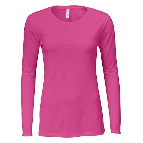 Custom Printed Alstyle 5564 Junior Jersey Ladies  Long Sleeve T-Shirt - 4  ... 3e7cec695