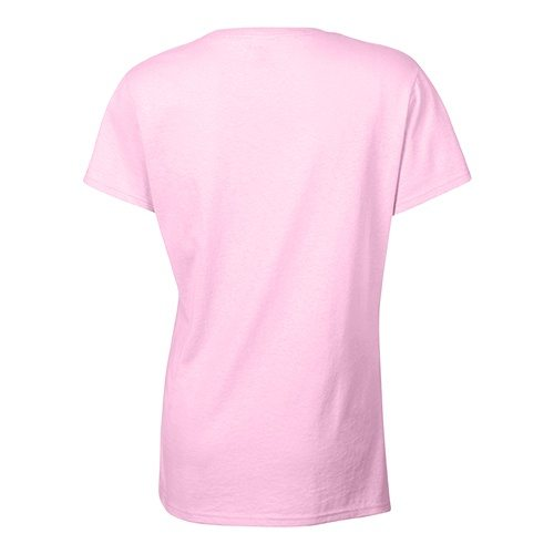 Custom Printed Bella 1005 Ladies V-Neck T-shirt - 0 - Back View | ThatShirt
