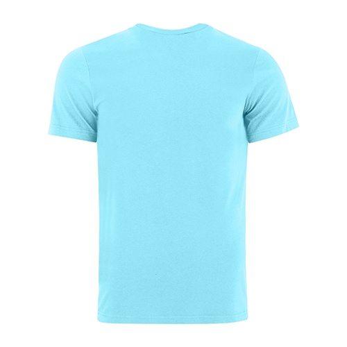 Custom Printed Bella + Canvas 3001 Jersey T-shirt - 1 - Back View   ThatShirt