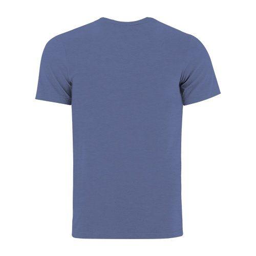 Custom Printed Bella + Canvas 3001 Jersey T-shirt - 18 - Back View | ThatShirt