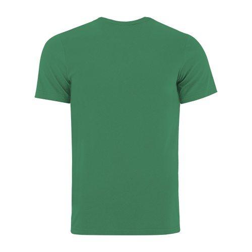 Custom Printed Bella + Canvas 3001 Jersey T-shirt - Kelly - Back View   ThatShirt