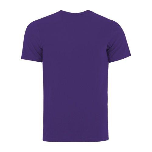 Custom Printed Bella + Canvas 3001 Jersey T-shirt - 41 - Back View | ThatShirt