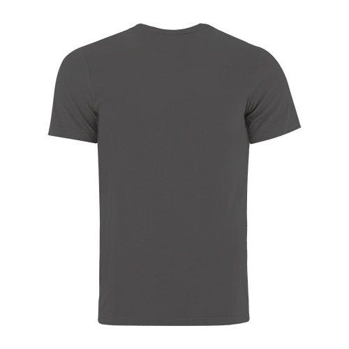 Custom Printed Bella + Canvas 3005 V-Neck Jersey Tee - 1 - Back View | ThatShirt