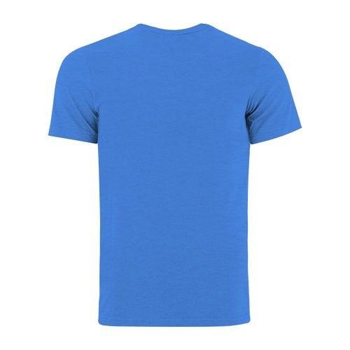 Custom Printed Bella + Canvas 3005 V-Neck Jersey Tee - 11 - Back View   ThatShirt