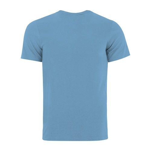 Custom Printed Bella + Canvas 3005 V-Neck Jersey Tee - 0 - Back View | ThatShirt