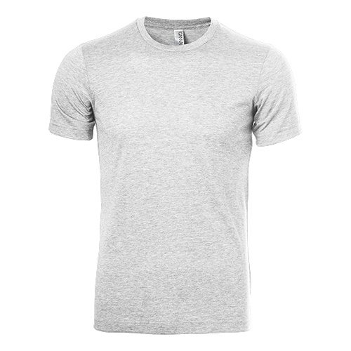 Custom Printed Bella + Canvas 3413 Tri-Blend T-shirt - Front View   ThatShirt