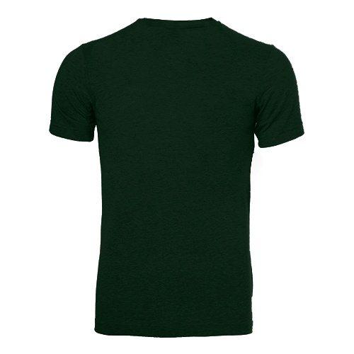 Custom Printed Bella + Canvas 3413 Tri-Blend T-shirt - 6 - Back View | ThatShirt
