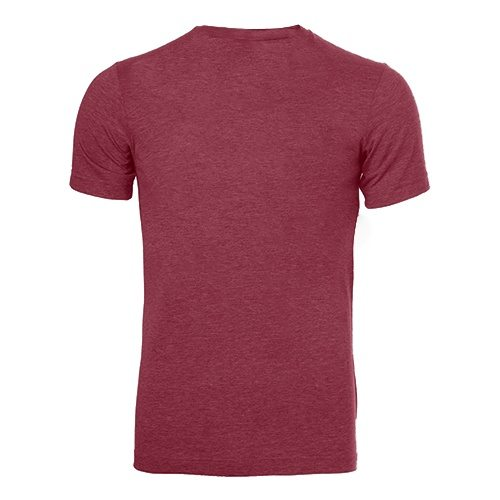 Custom Printed Bella + Canvas 3413 Tri-Blend T-shirt - 9 - Back View | ThatShirt
