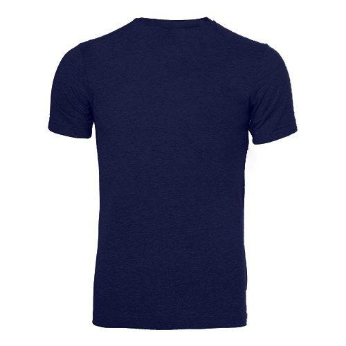 Custom Printed Bella + Canvas 3413 Tri-Blend T-shirt - 10 - Back View | ThatShirt