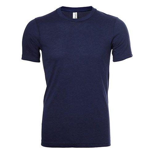 Custom Printed Bella + Canvas 3413 Tri-Blend T-shirt - Front View | ThatShirt