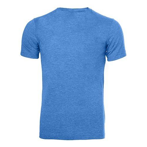 Custom Printed Bella + Canvas 3413 Tri-Blend T-shirt - 15 - Back View   ThatShirt