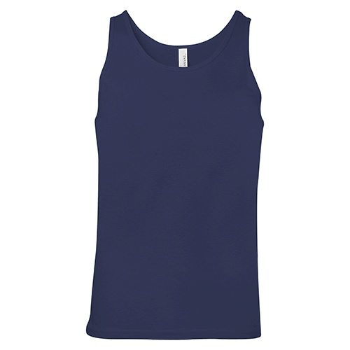 Custom Printed Bella + Canvas 3480 Jersey Tank - Front View | ThatShirt