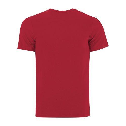 Custom Printed Bella + Canvas 3650 Poly-Cotton Short Sleeve Tee - 8 - Back View | ThatShirt