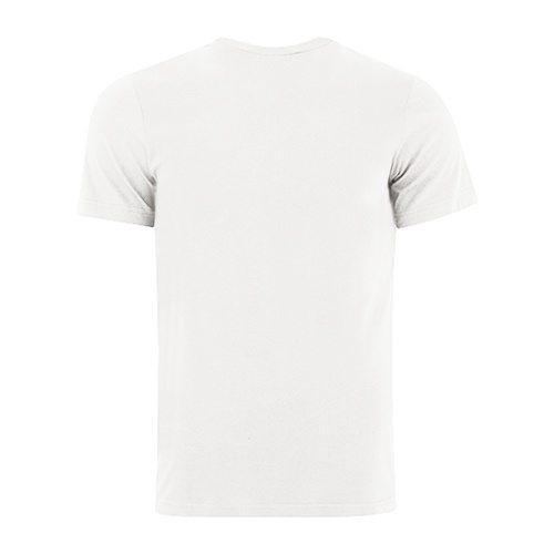 Custom Printed Bella + Canvas 3650 Poly-Cotton Short Sleeve Tee - 11 - Back View | ThatShirt