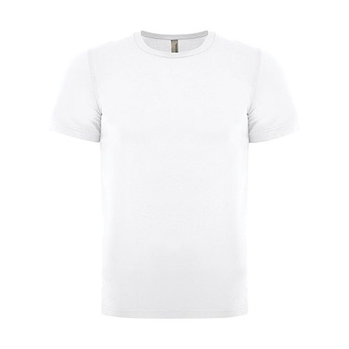 Custom Printed Bella + Canvas 3650 Poly-Cotton Short Sleeve Tee - Front View | ThatShirt