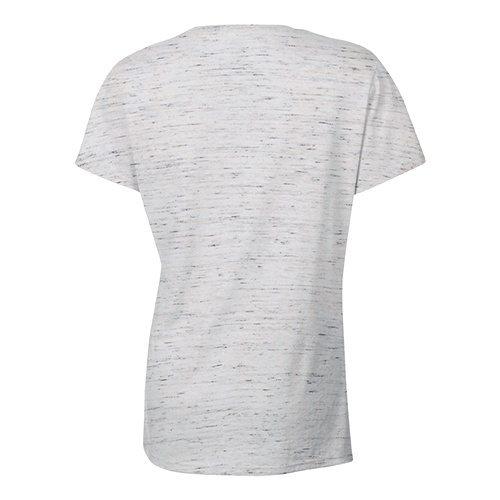 Custom Printed Bella + Canvas 6035 Ladies' Short Sleeve Deep V-Neck Jersey Tee - 25 - Back View | ThatShirt