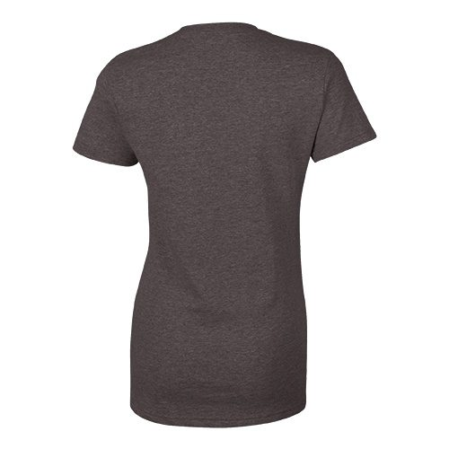 Custom Printed Bella + Canvas 6405 Ladies' Relaxed Jersey Short Sleeve V-Neck Tee - 2 - Back View | ThatShirt